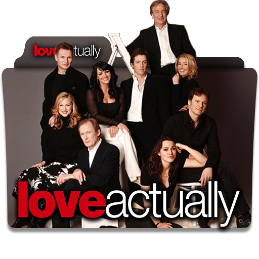 Love Actually 2003 Folder Icon Version 2 By Wisdoomer On Deviantart