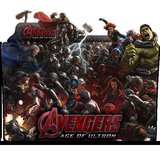 Avengers Age Of Ultron 2015 Folder Icon By Wisdoomer On Deviantart