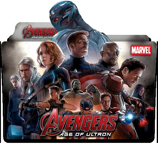 Avengers Age Of Ultron 2015 Folder Icon 3 By Wisdoomer On Deviantart
