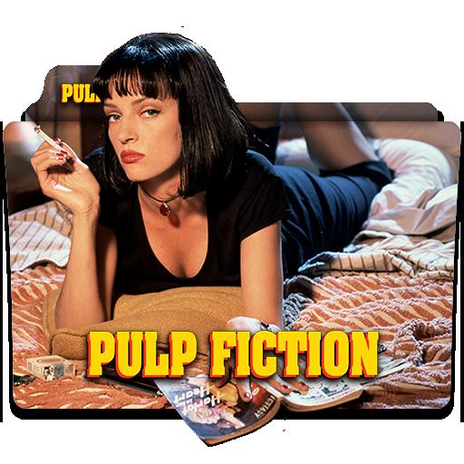 Pulp Fiction 1994 Folder Icon By Wisdoomer On Deviantart