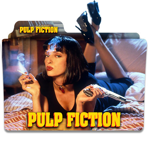 Pulp Fiction 1994 Folder Icon Version 2 By Wisdoomer On Deviantart