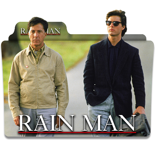Rain Man 1988 Folder Icon By Wisdoomer On Deviantart