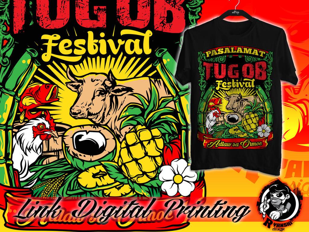 Tugob festival tshirt design by francisryanperez on deviantart for T shirt design festival