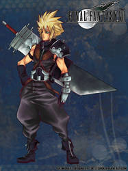 Commission - Cloud strife by turtlechan