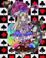 Alice in Wonderland by turtlechan