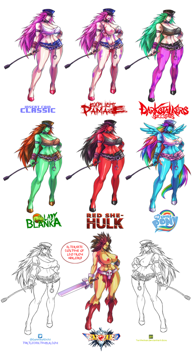 Poison SFIV concepts by turtlechan