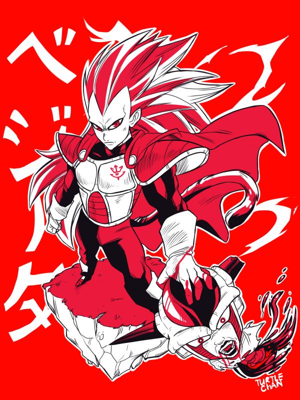 Super saiyajin king by turtlechan