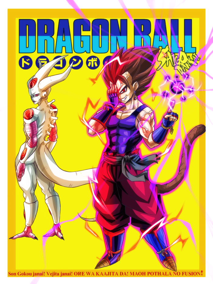 Dragon ball doujinshi volume 2 cover by turtlechan