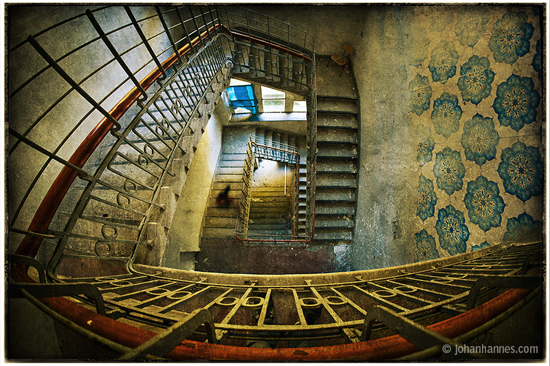 Staircase by nahojsennah