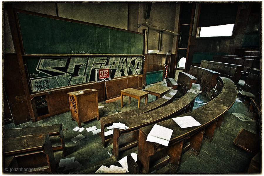 The auditorium by nahojsennah