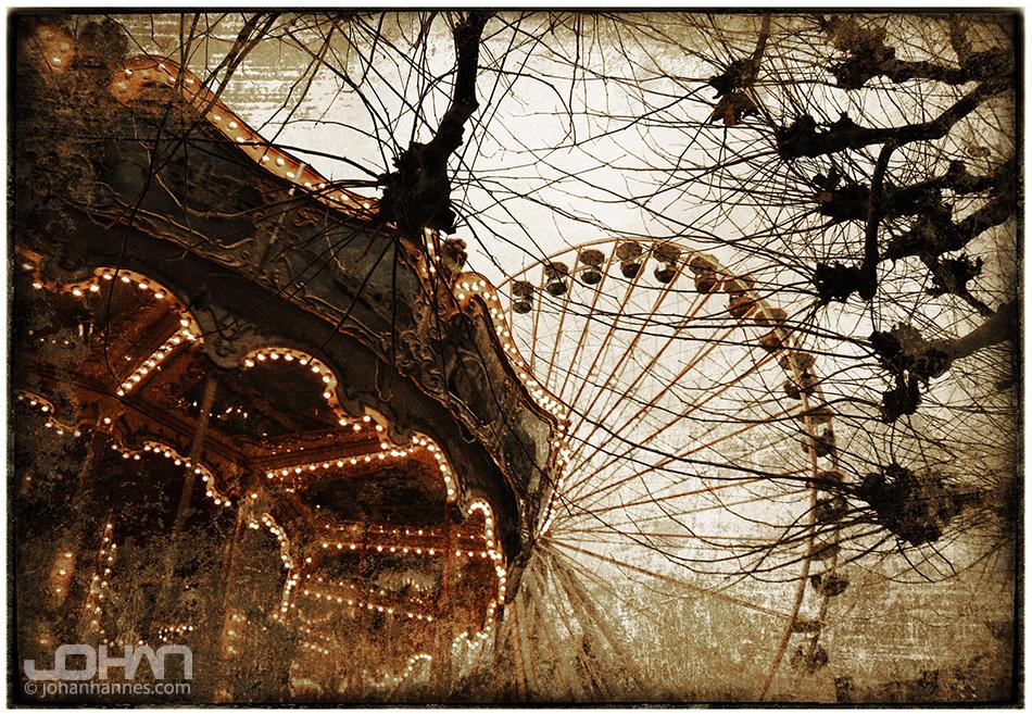 Creepy fun fair by nahojsennah