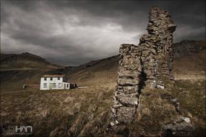 Abandoned Farm Iceland 2 by nahojsennah