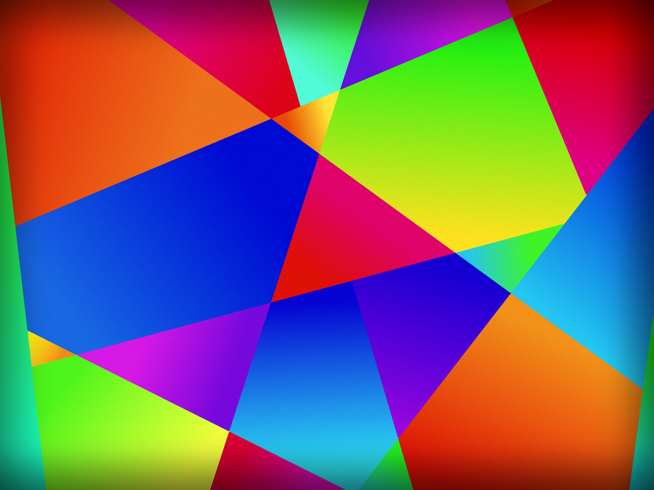 Colorful Polygon Wallpaper by mfoulks3200 on DeviantArt