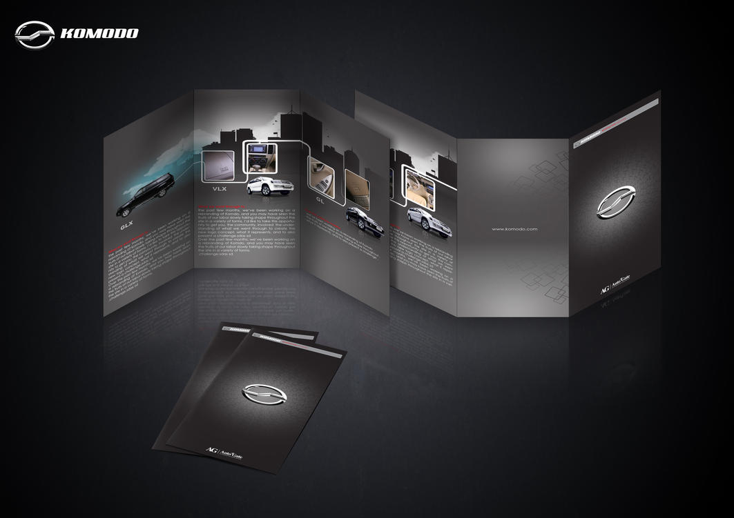 komodo presentation flyer by driver d