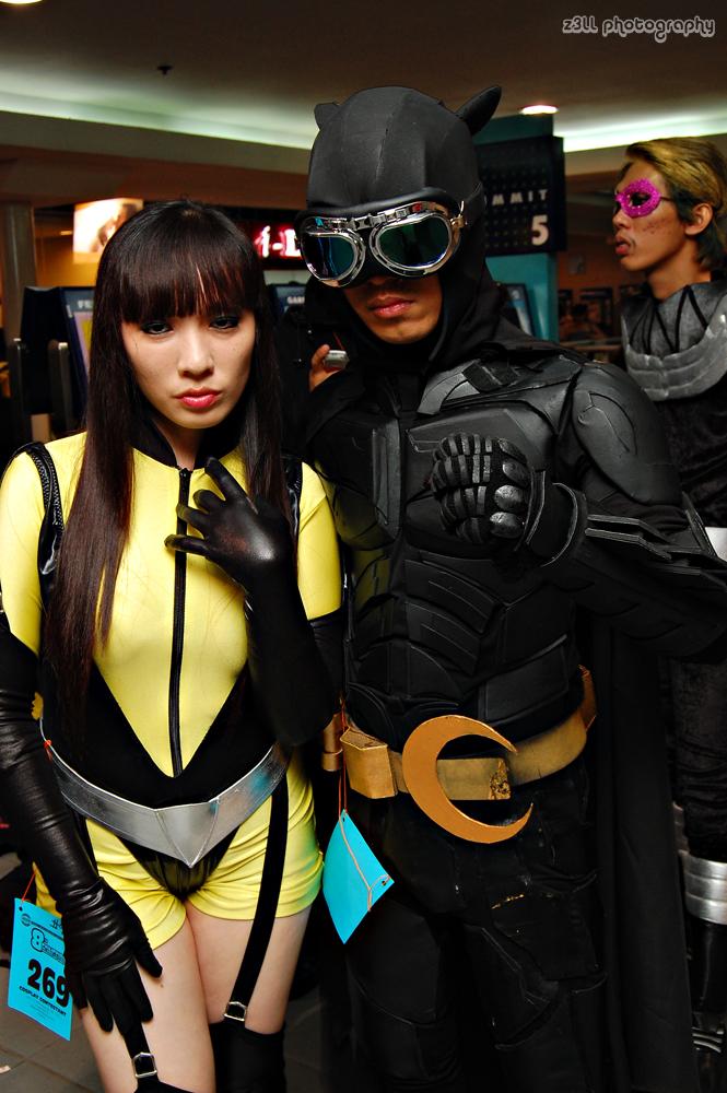 Silk Spectre and Dark Nite Owl by chenmeicai on DeviantArt