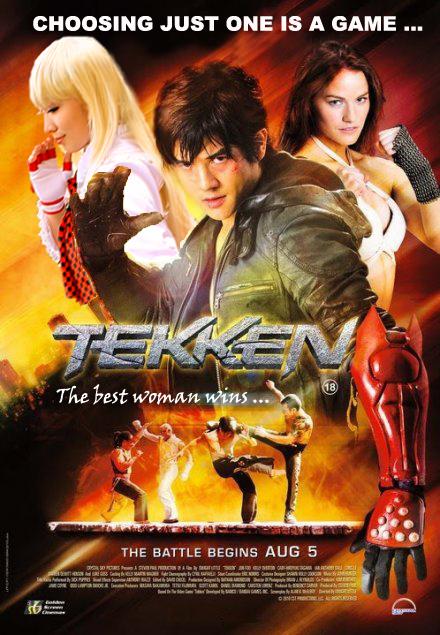 Tekken 2010 Fan Movie Poster by chenmeicai