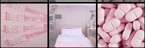 Pink Hospital Decor F2U by MenheraKae
