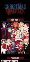 CHRISTMAS MINI PACK by Takeshi1995