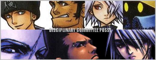 DISCIPLINARY COMMITTE POSSE by dcposse