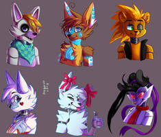 request batch 1: Animatronics by DragonHF