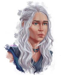 daenerys targaryen by demorum