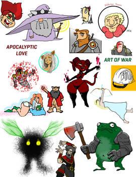 Drawing Dump