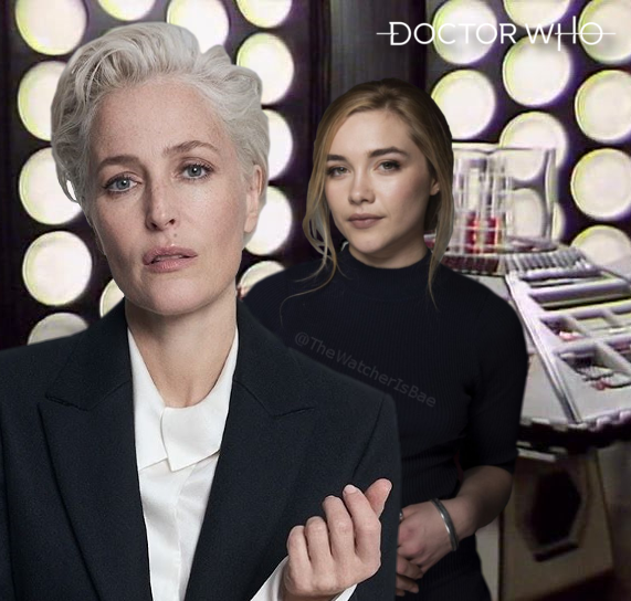 Gillian Anderson Is The Doctor