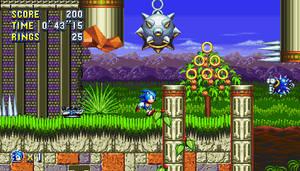 Marble Garden Zone Act 1 Sonic Mania