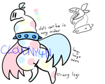 Pastel Polka Dot - ADOPT AUCTION by cloudny4n