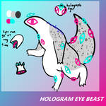 Hologram Eye Beast - CLOSED OTA/AUCTION by cloudny4n
