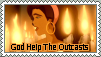 God Help The Outcasts Stamp by Violet--Gypsy