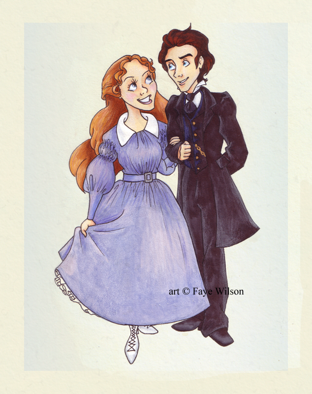 Marius and Cosette by Violet--Gypsy