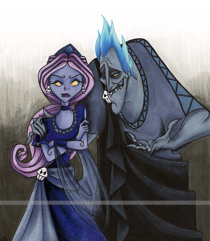 Hades + Persephone by Violet--Gypsy on DeviantArt