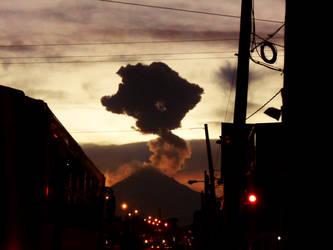 Popocatepetl by MauLeonS