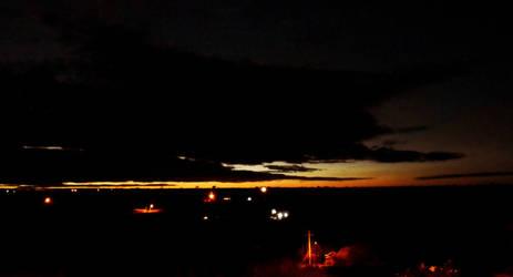 Anochecer en Ahuatempan