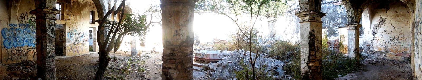 Ex hacienda de San Juan Raboso, I. de M. Puebla
