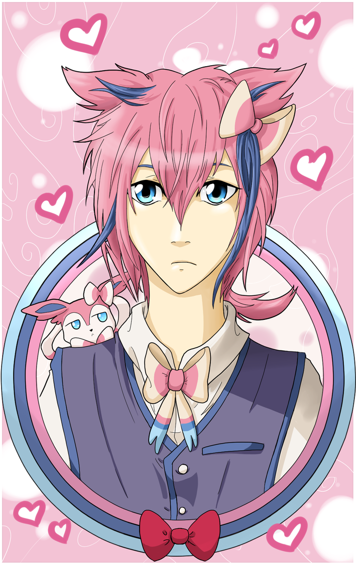 Doberberry the Sylveon by Mearii-chi on DeviantArt
