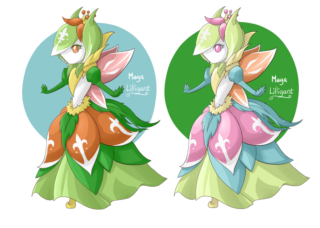 .:Contest:. Mega Lilligant by Mearii-chi on DeviantArt