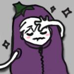 alas poor eggplant by fakeSidney