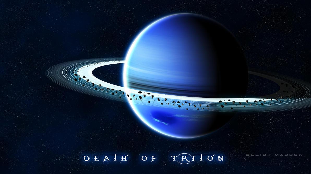 Death of Triton by PhotoshopAddict89