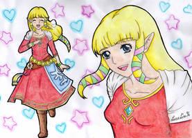Zelda-Skyward Sword by OwlLisa