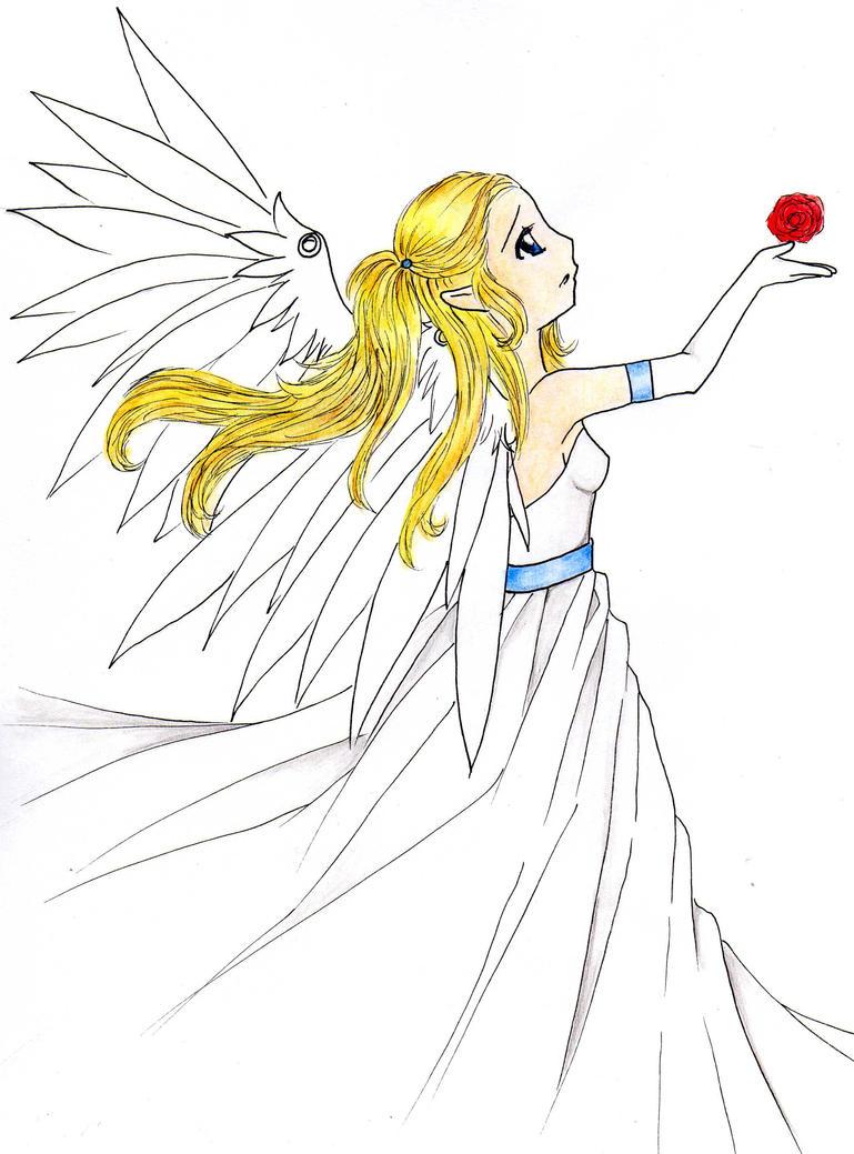 sad Zelda by OwlLisa