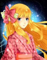 Kimono Zelda-Redraw by OwlLisa