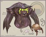 Goretober Day 6 - 'Headcrab Metamorphosis'