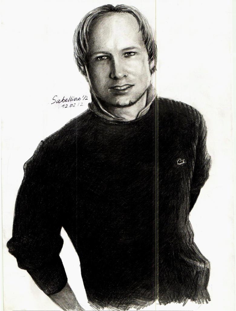 Anders Behring Breivik by Sabellian