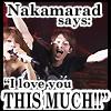 Nakamarad Loves You by ThePhantomsAngel