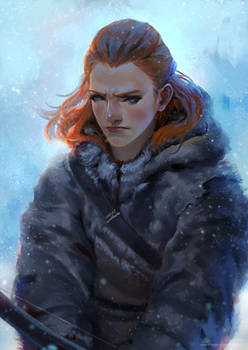 Game of Thrones - Ygritte (Fan art)