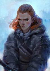 Game of Thrones - Ygritte (Fan art) by telaga