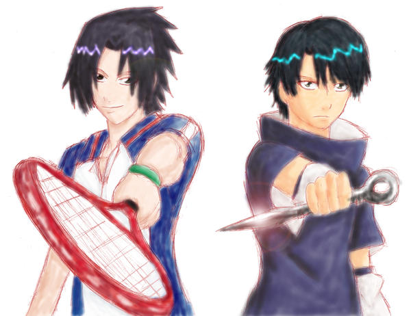 Sasuke and Ryoma cosplay by Darkfire75