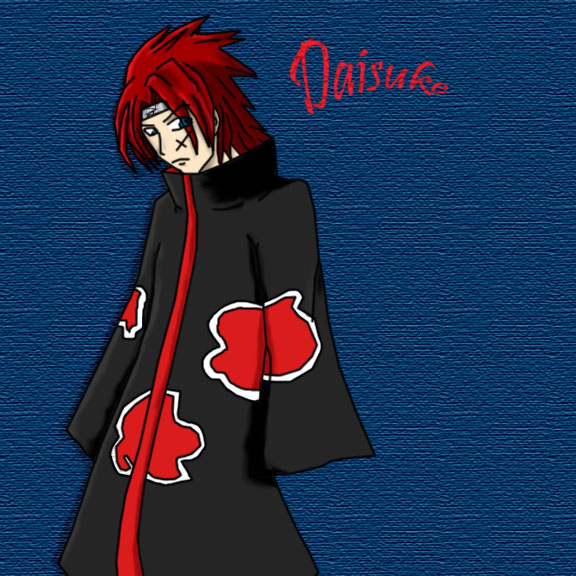 Akatsuki OC - colored by Darkfire75